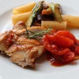 料理チキンのトマト煮-1